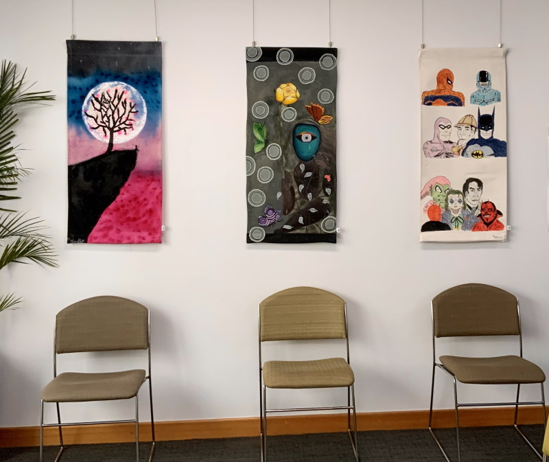 Barossa artists featured in new Waiting Room Art Gallery